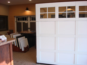 Environmental Door Grand Rapids is a leader in Garage Door Services. Our showroom has many features, including many of the doors themselves.