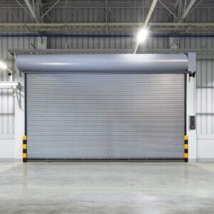 A Wayne Dalton rolling door model 800 garage door. For the latest garage door news, read the Environmental Door blog.
